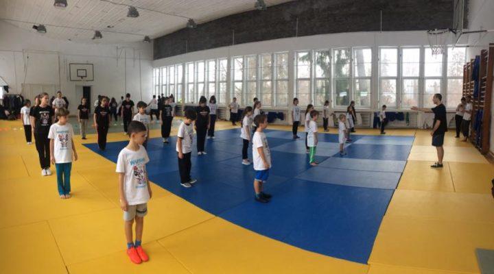 Antrenamentele de wushu la copii